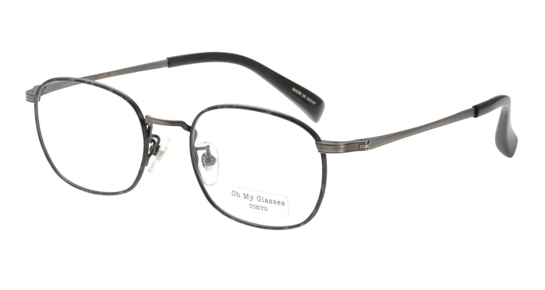 Oh My Glasses TOKYO Chris omg-069-1-48 [メタル/鯖江産/ウェリントン/グレー]