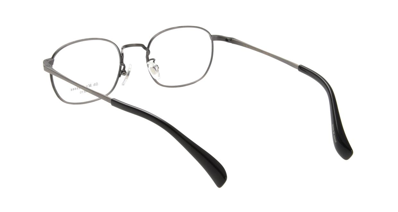 Oh My Glasses TOKYO Chris omg-069-1-48 [メタル/鯖江産/ウェリントン/グレー]  2