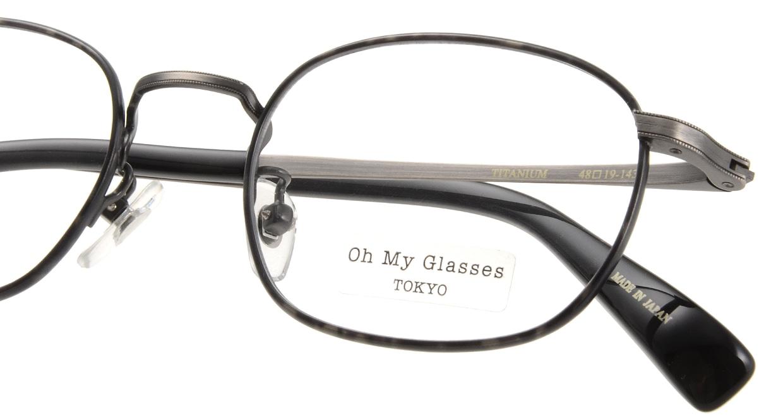 Oh My Glasses TOKYO Chris omg-069-1-48 [メタル/鯖江産/ウェリントン/グレー]  4