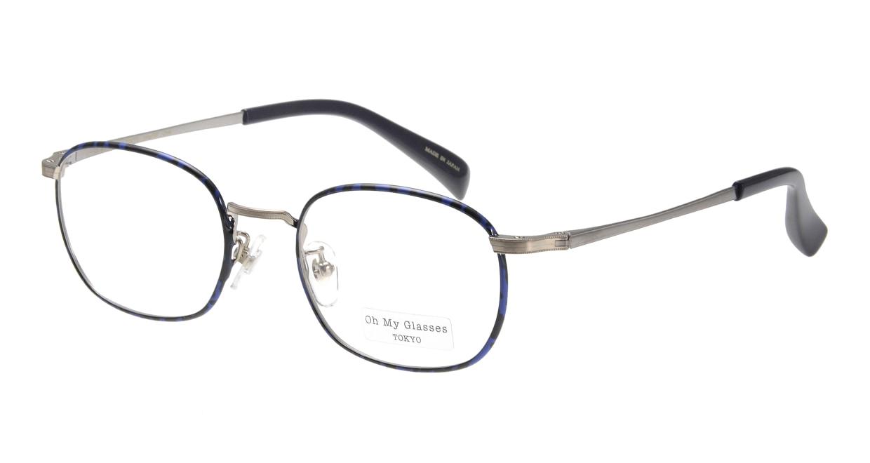 Oh My Glasses TOKYO Chris omg-069-4-48 [メタル/鯖江産/ウェリントン/青]