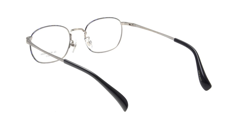 Oh My Glasses TOKYO Chris omg-069-4-48 [メタル/鯖江産/ウェリントン/青]  2