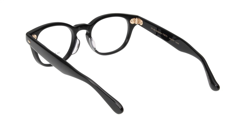 Oh My Glasses TOKYO Lucas omg-070-1-48 [黒縁/鯖江産/丸メガネ]  2