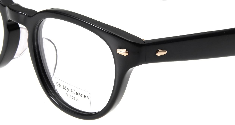Oh My Glasses TOKYO Lucas omg-070-1-48 [黒縁/鯖江産/丸メガネ]  4