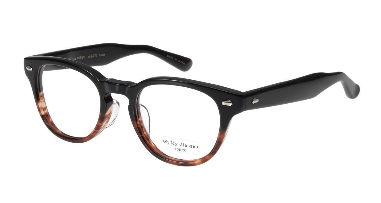 Oh My Glasses TOKYO Lucas omg-070-2-48 [鯖江産/丸メガネ/べっ甲柄]