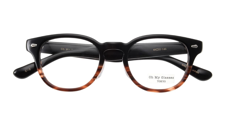 Oh My Glasses TOKYO Lucas omg-070-2-48 [鯖江産/丸メガネ/べっ甲柄]  3