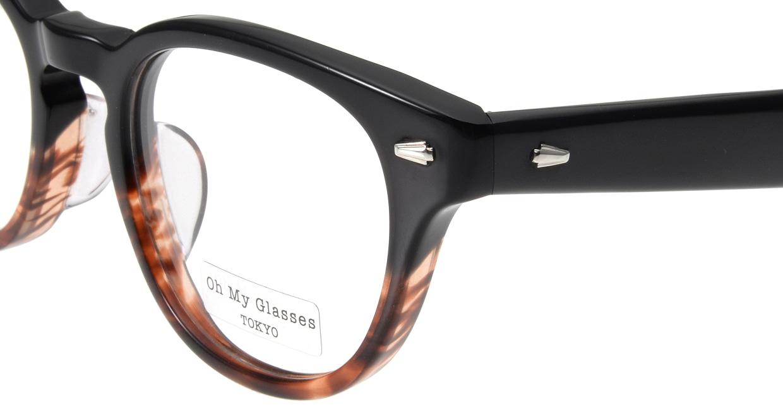 Oh My Glasses TOKYO Lucas omg-070-2-48 [鯖江産/丸メガネ/べっ甲柄]  4