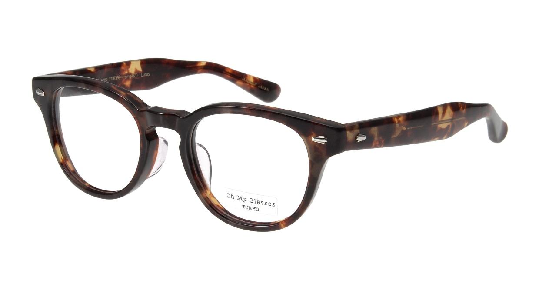 Oh My Glasses TOKYO Lucas omg-070-3-48 [鯖江産/丸メガネ/べっ甲柄]