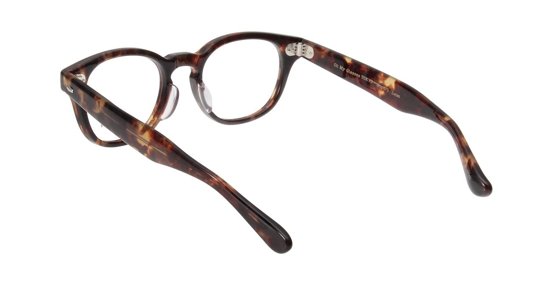 Oh My Glasses TOKYO Lucas omg-070-3-48 [鯖江産/丸メガネ/べっ甲柄]  2