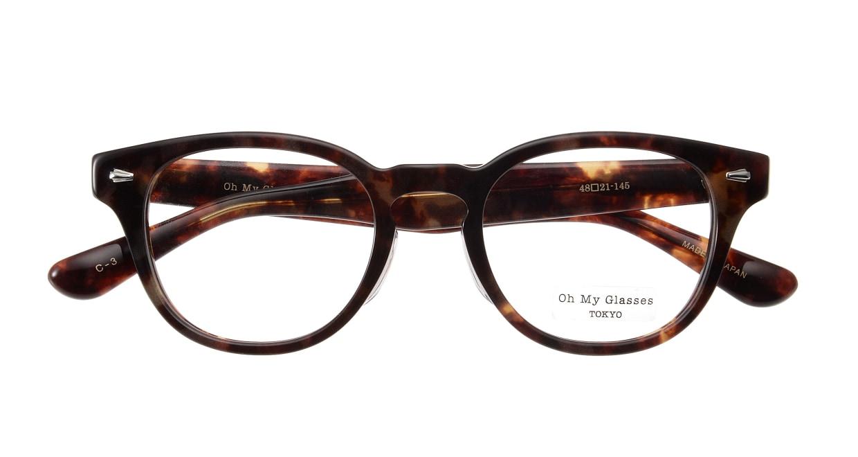 Oh My Glasses TOKYO Lucas omg-070-3-48 [鯖江産/丸メガネ/べっ甲柄]  3