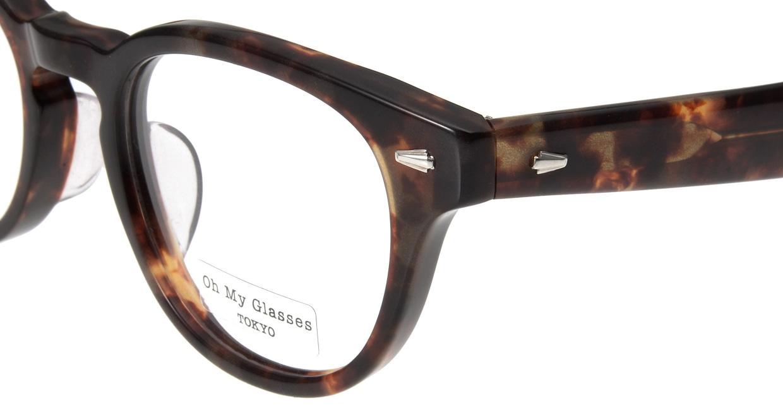 Oh My Glasses TOKYO Lucas omg-070-3-48 [鯖江産/丸メガネ/べっ甲柄]  4