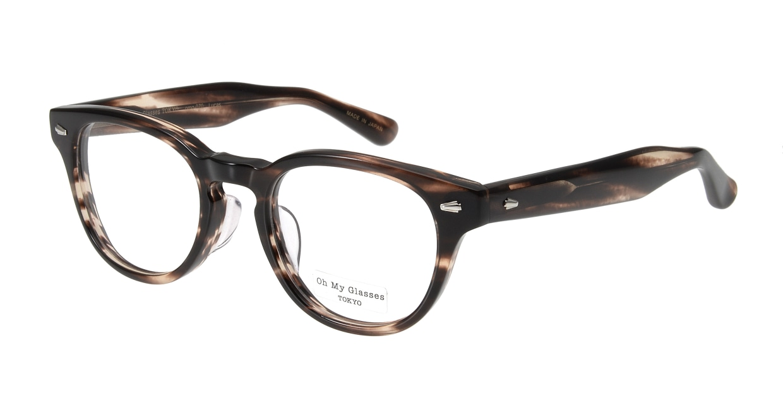 Oh My Glasses TOKYO Lucas omg-070-4-48 [鯖江産/丸メガネ/茶色]