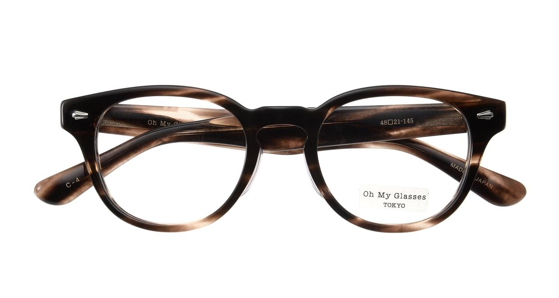 Oh My Glasses TOKYO Lucas omg-070-4-48 [鯖江産/丸メガネ/茶色]  3