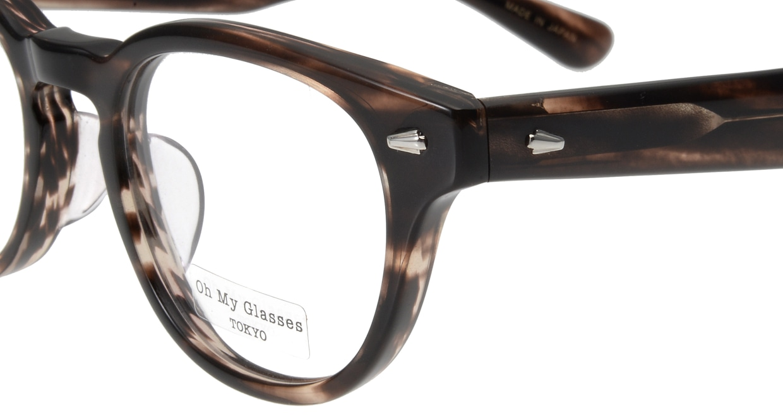 Oh My Glasses TOKYO Lucas omg-070-4-48 [鯖江産/丸メガネ/茶色]  4