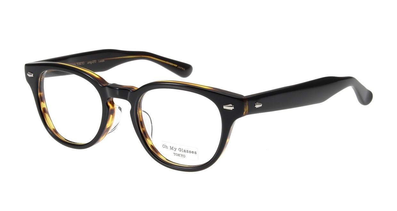 Oh My Glasses TOKYO Lucas omg-070-5-48 [鯖江産/丸メガネ/茶色]