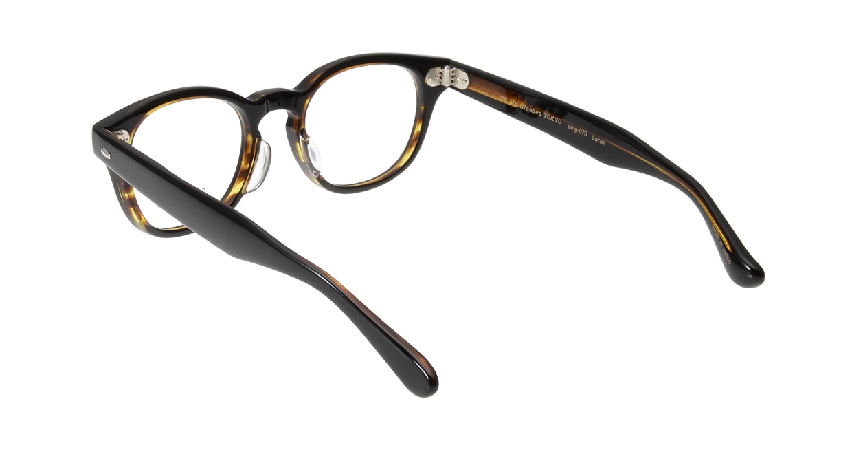 Oh My Glasses TOKYO Lucas omg-070-5-48 [鯖江産/丸メガネ/茶色]  2