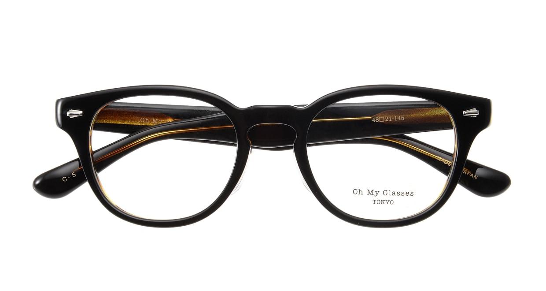 Oh My Glasses TOKYO Lucas omg-070-5-48 [鯖江産/丸メガネ/茶色]  3