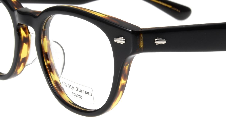 Oh My Glasses TOKYO Lucas omg-070-5-48 [鯖江産/丸メガネ/茶色]  4