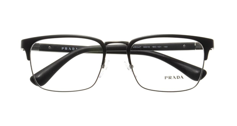 プラダ PR54TV-1B0101-55 [メタル/ウェリントン]  3