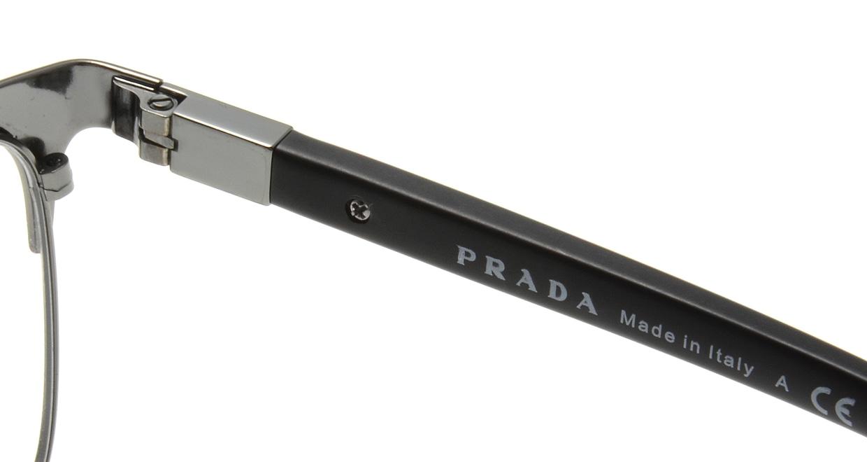 プラダ PR54TV-1B0101-55 [メタル/ウェリントン]  5