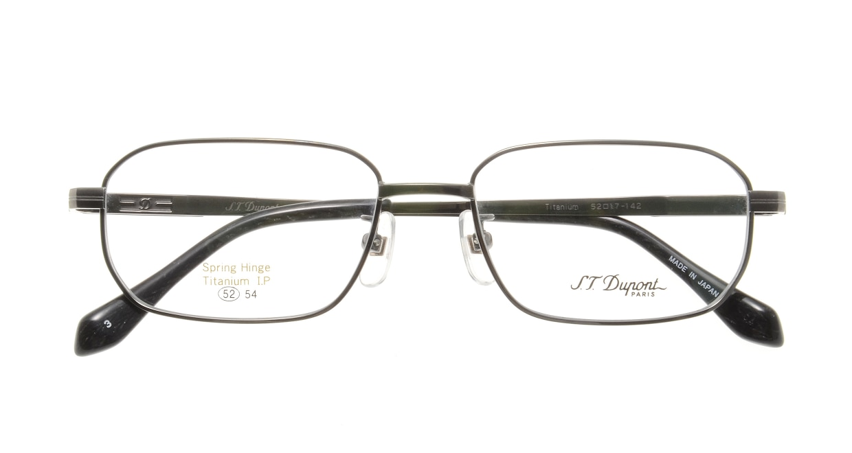 デュポン DP-3163-C-3 [メタル/鯖江産/スクエア/グレー]  3