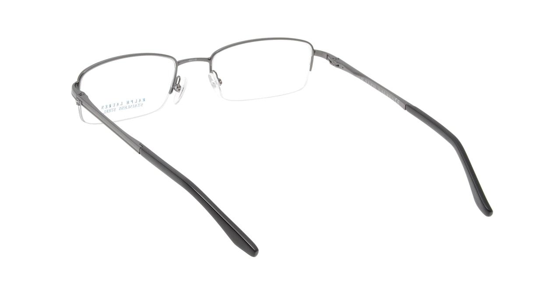 ラルフローレン RL1535-K75 [メタル/ハーフリム/スクエア/グレー]  2