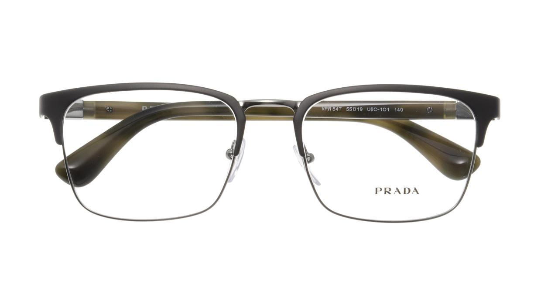 プラダ PR54TV-U6C101-55 [メタル/ウェリントン/シルバー]  3