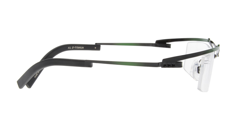オンビート ONB-324-G03X Black-Green Gradation [メタル/鯖江産/スクエア/緑]  1