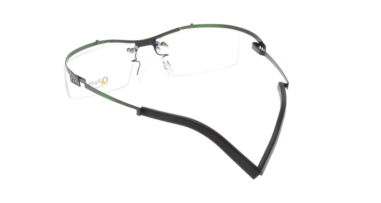 オンビート ONB-324-G03X Black-Green Gradation [メタル/鯖江産/スクエア/緑]  2