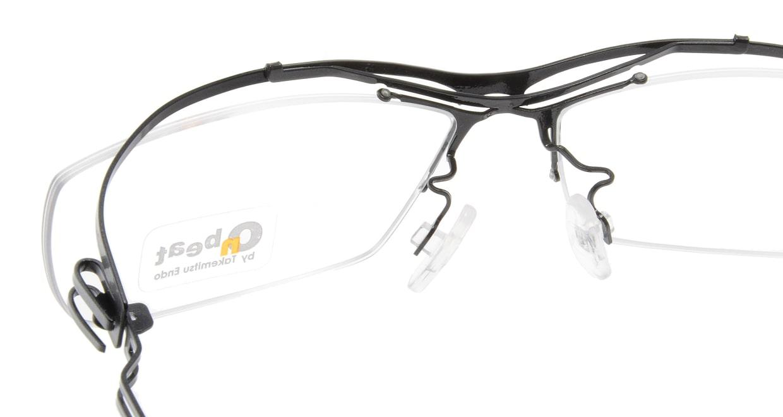 オンビート ONB-405H-Q01B Gray-Silver Gradation/Black [メタル/鯖江産/ハーフリム/スクエア]  4