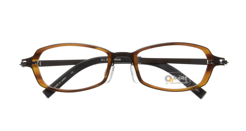オンビート ONB-711H-04DBR Dark Brown/Dark Brown04 [鯖江産/スクエア/茶色]  3