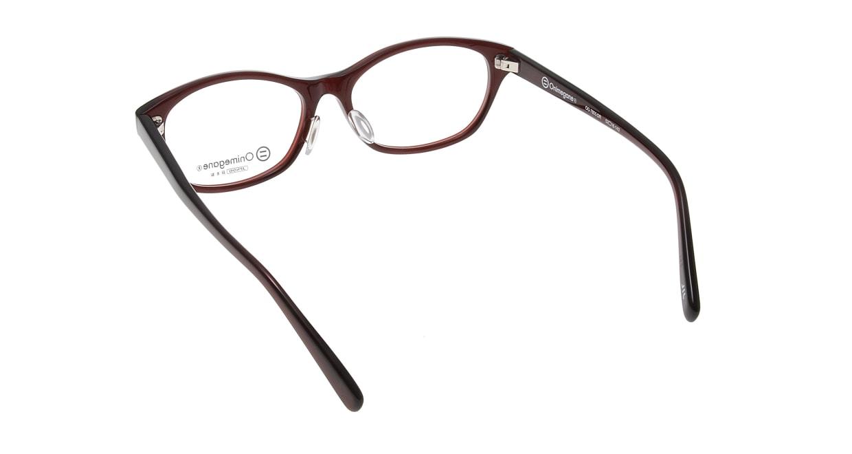 オニメガネ OG7805-DR [鯖江産/ウェリントン/赤]  3