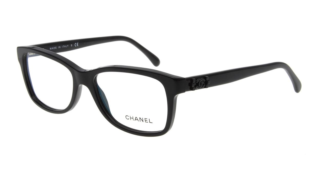 シャネル CH3311-C501-54 Black [黒縁/ウェリントン]