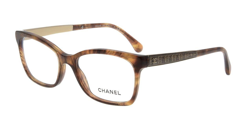シャネル CH3332-1525-52 Fur Brown [ウェリントン/茶色]