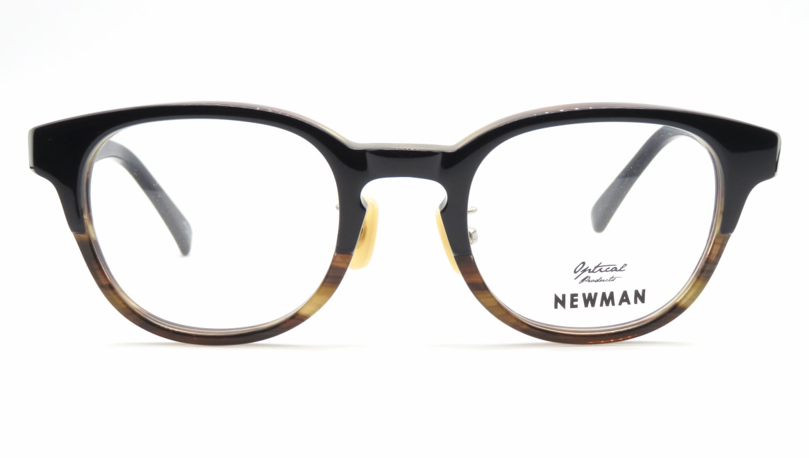 ニューマン HOWARD-C4 [黒縁/丸メガネ/安い]