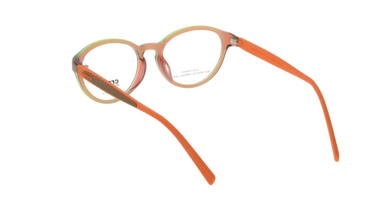クロックスアイウェア ジュニアコレクション-JR032-40OE [丸メガネ/茶色]  2