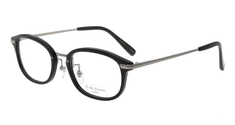 Oh My Glasses TOKYO Albert omg-071-4-21 [黒縁/鯖江産/ウェリントン]