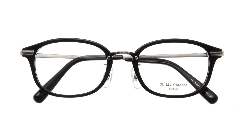 Oh My Glasses TOKYO Albert omg-071-4-21 [黒縁/鯖江産/ウェリントン]  3