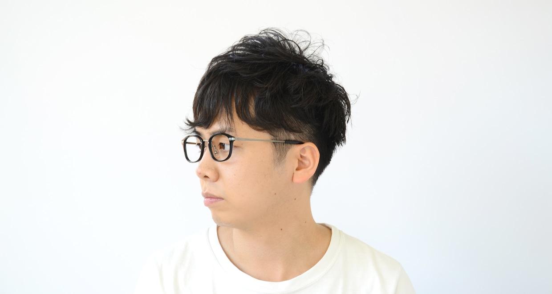 Oh My Glasses TOKYO Albert omg-071-4-21 [黒縁/鯖江産/ウェリントン]  6