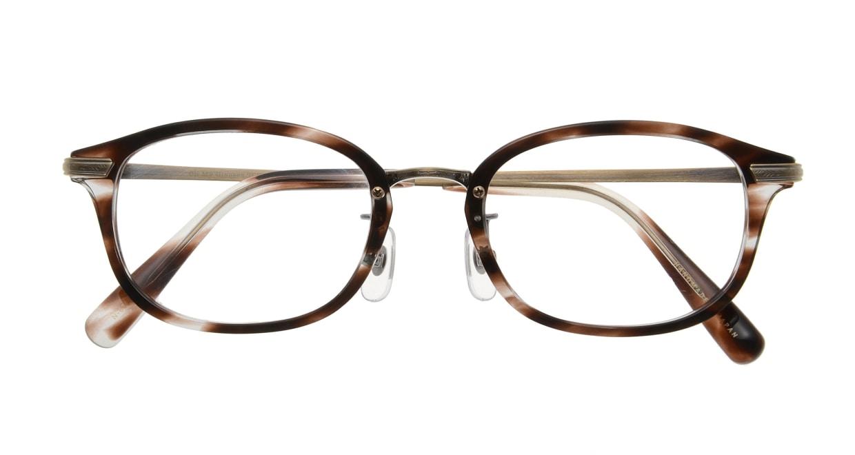 Oh My Glasses TOKYO Albert omg-071-18-12 [鯖江産/ウェリントン/べっ甲柄]  3