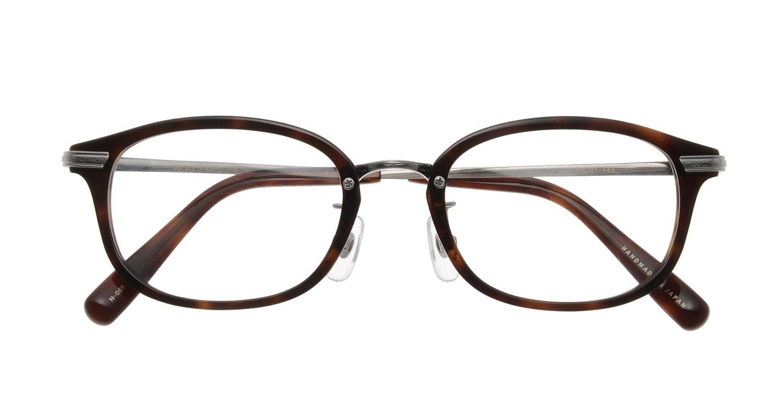 Oh My Glasses TOKYO Albert omg-071-59-12 [鯖江産/ウェリントン/茶色]  3
