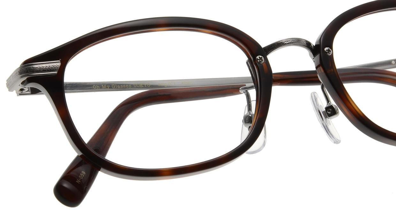 Oh My Glasses TOKYO Albert omg-071-59-12 [鯖江産/ウェリントン/茶色]  4