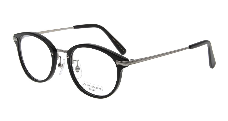 Oh My Glasses TOKYO Owen omg-072-19-21 [黒縁/鯖江産/丸メガネ]
