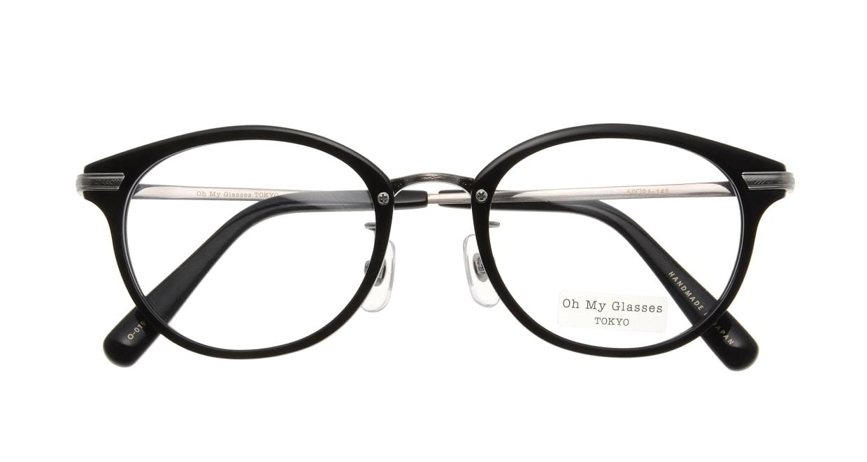 Oh My Glasses TOKYO Owen omg-072-19-21 [黒縁/鯖江産/丸メガネ]  3