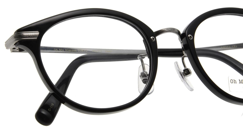 Oh My Glasses TOKYO Owen omg-072-19-21 [黒縁/鯖江産/丸メガネ]  4