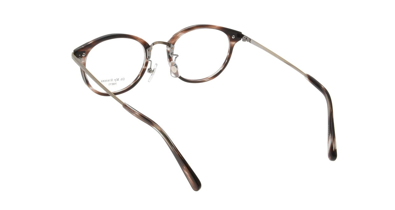 Oh My Glasses TOKYO Owen omg-072-18-12 [鯖江産/丸メガネ/べっ甲柄]  2