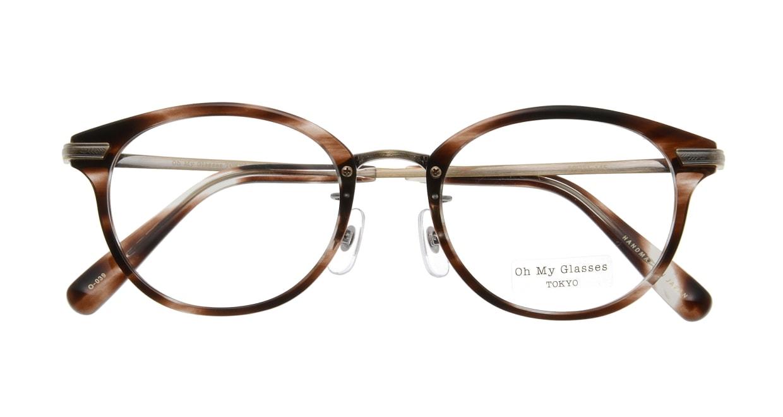 Oh My Glasses TOKYO Owen omg-072-18-12 [鯖江産/丸メガネ/べっ甲柄]  3