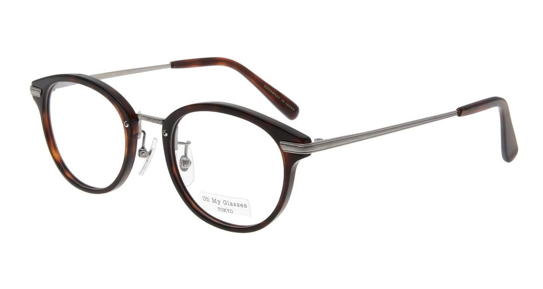 Oh My Glasses TOKYO Owen omg-072-20-12 [鯖江産/丸メガネ/茶色]