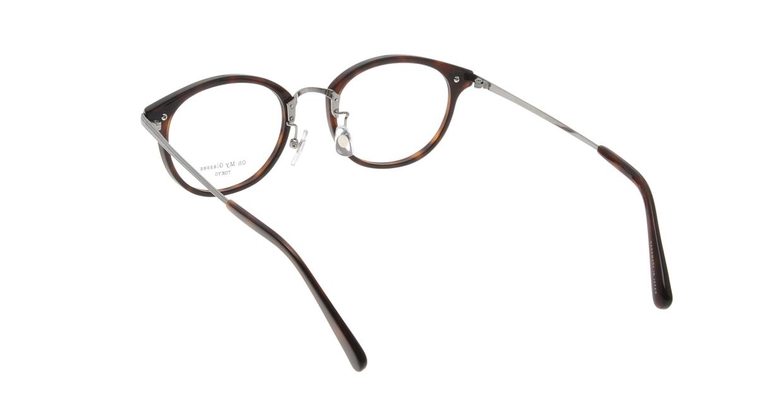 Oh My Glasses TOKYO Owen omg-072-20-12 [鯖江産/丸メガネ/茶色]  2