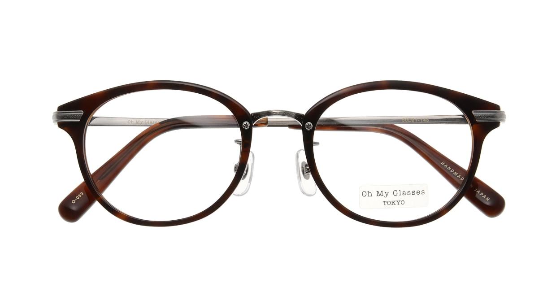 Oh My Glasses TOKYO Owen omg-072-20-12 [鯖江産/丸メガネ/茶色]  3