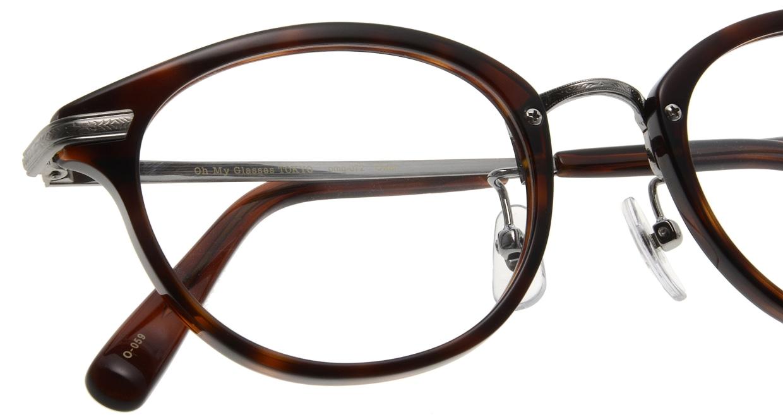 Oh My Glasses TOKYO Owen omg-072-20-12 [鯖江産/丸メガネ/茶色]  4
